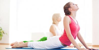 Yoga für Anfänger/Mittel.